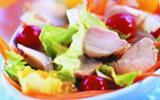 Salade de lapin aux zestes d'agrumes
