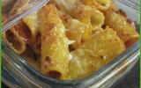 Gratin de pâtes à la mozzarella, Pasta al forno