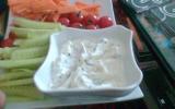 Fondue de fromage blanc aux fines herbes