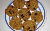 Cookies aux raisins et à la cannelle