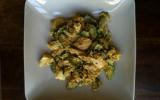 Curry de courgettes et volaille au quinoa