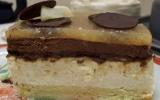 Bavarois poire-chocolat