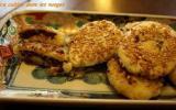 Petits Gâteaux de Pommes de Terre et Haricots Azuki