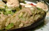 Salade d'avocat aux sardines