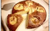 Gâteau aux pommes caramélisées maison