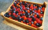 Tarte cagette de fruits