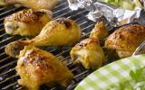 Cuisses de poulet à la moutarde et pommes de terre au four