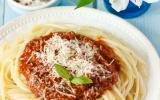 Spaghetti bolognaise au fromage râpé Gusto Intenso Giovanni Ferrari