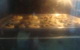 Cookies chocolat et amandes effilées