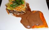 Filet de haddock et son écume cacao, duxelle de shiitakés