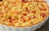 Tarte bouquet de roses ®, d'après Alain Passard
