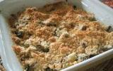Crumble de courgettes aux herbes de Provence