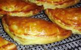 Chaussons poireaux et bacon