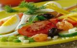 La salade bio façon niçoise
