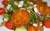 Salade de chèvre chaud facile