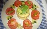 Scones de polenta et sa poêlée de courgettes