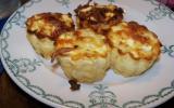 Cannelés salés lardons gruyère