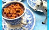Crème chocolat au sirop de Liège et éclats de Spéculoos
