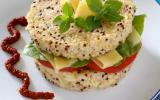 Burger végétarien de quinoa