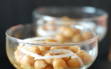 Salade de pois chiches en verrines