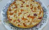 gâteau abricots et amandes