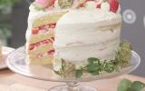 Layer cake aux fraises du Périgord  IGP
