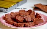 Croustillants au chocolat et gavottes