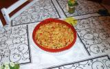 Torilla espagnole aux pommes de terre et trio de poivrons