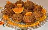 """Muffins à l""""orange et craquelin aux noisettes"""
