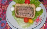 Pâté en croûte au porc et aux champignons