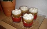 Verrines aux fruits et crème chantilly
