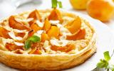 Tarte amandes et abricots