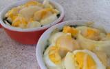 Gratin d'épinards aux œufs