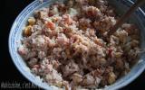 Salade de riz thon et tomate