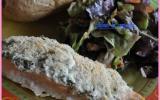 Papillote de saumon aux herbes