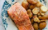 Pavés de saumon au citron et gingembre