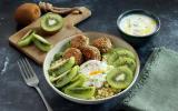 Lunch bowl au Kiwi de l'Adour IGP et tofu