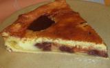 Tarte marbrée chocolat-orange