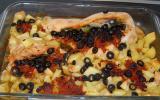 Dinde farcie tomate - olives