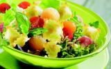 Salade d'été aux ravioles
