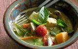 Curry vert aux légumes primeurs