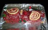Bûche de Noël gourmande à la framboise