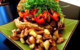 Kebab maison à l'agneau Presto grillé