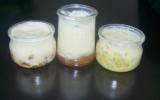 Trio de yaourts