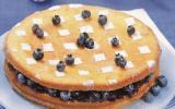 Gâteau au yaourt à la confiture de myrtilles express  (version détaillée)