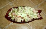 Salade d'avocats aux crevettes