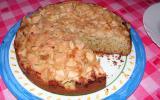 Gâteau aux pommes et aux graines de pavot