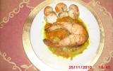 Duo se saumon et saint-jacques aux achards de légumes