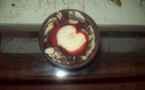 Verrines chocolat fondu et fruits frais