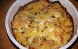 Gratin de pommes de terre au roquefort facile